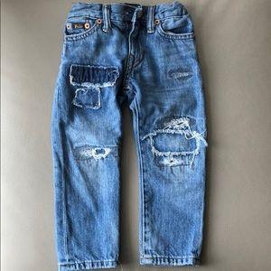 Polo RL Slim Fit Denim Jeans Size 2T